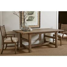 "Portico 78"" Rectangular Dining Table - Drift"
