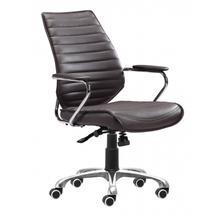 See Details - Enterprise Low Back Office Chair Espresso