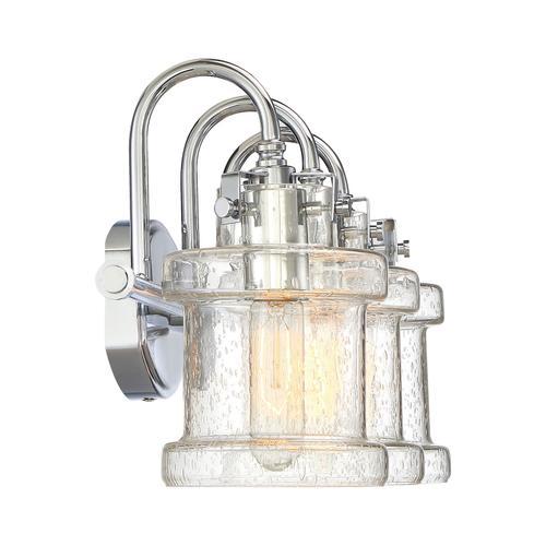Quoizel - Danbury Bath Light in Polished Chrome