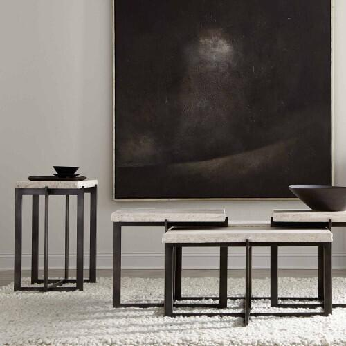 Bernhardt - Hathaway Metal Drink Table