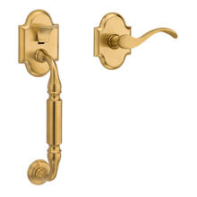 See Details - Lifetime Satin Brass Canterbury Handle Grip Sectional