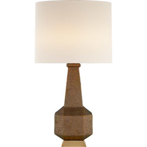 AERIN Babette 30 inch 60 watt Burnt Gold Table Lamp Portable Light