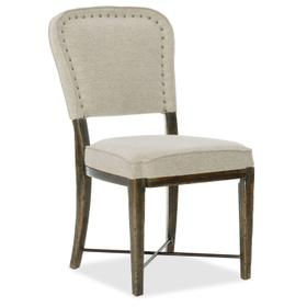 Dining Room Crafted Upholstered Side Chair - 2 per carton/price ea