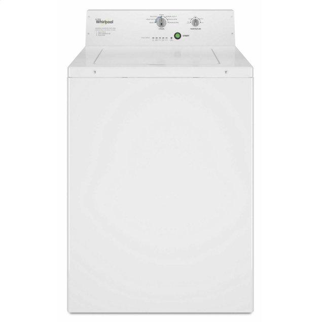 Whirlpool Commercial Top-Load Washer, Non-Vend White