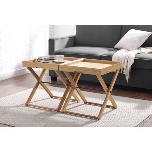 Greenington Fine Bamboo Furniture - Teline Tray Table, Caramelized