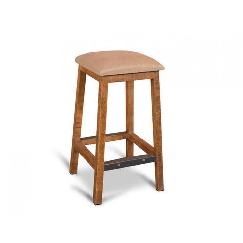 "Horizon Home Furniture - Urban Rustic 30"" Square Barstool"