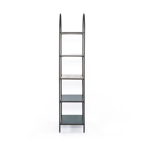 Noel Bookshelf-grey Gunmetal