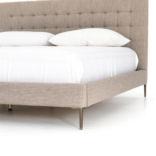 King Size Savile Flannel Cover Rennie Bed