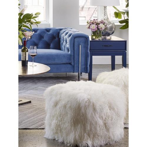 Moe's Home Collection - Lamb Fur Pouf Natural