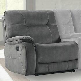 COOPER - SHADOW GREY Manual Left Arm Facing Recliner