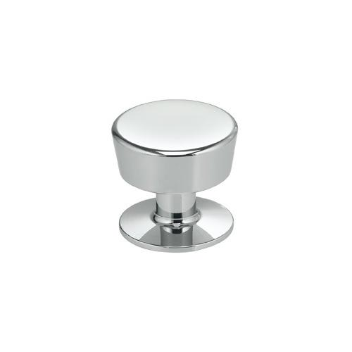 Product Image - Modern Cabinet Knob in US26 (Polished Chrome Plated)