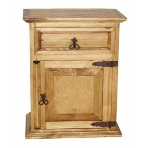 Million Dollar Rustic - 1 Drawer 1 Door Night Stand