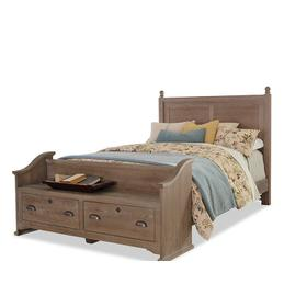 """""""Gilchrist"""" Poster Bed with Elder's Bench Footboard"""