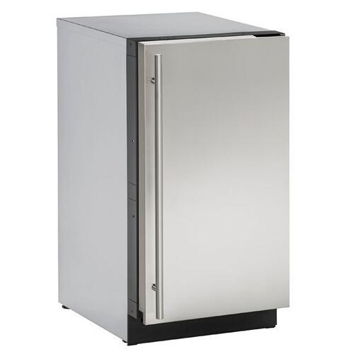 "18"" Clear Ice Machine With Stainless Solid Finish, No (115 V/60 Hz Volts /60 Hz Hz)"
