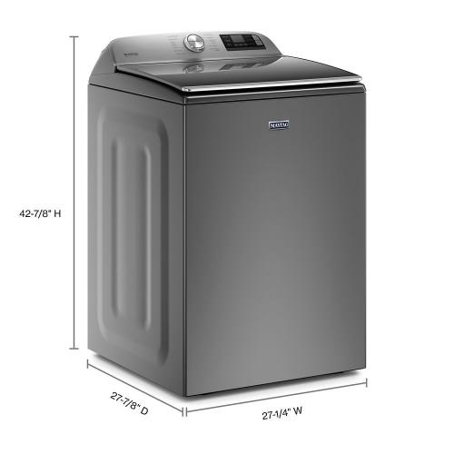 Smart Top Load Washer with Extra Power Button - 6.0 cu. ft.
