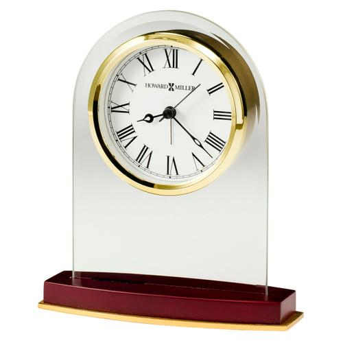 Howard Miller Anson Glass Table Clock 645786