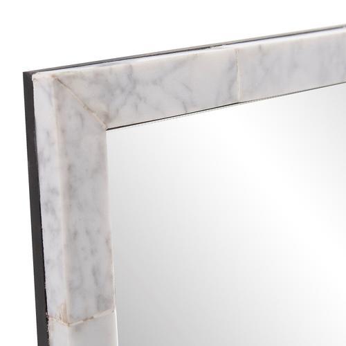 Howard Elliott - Makrana Marble Vanity Mirror