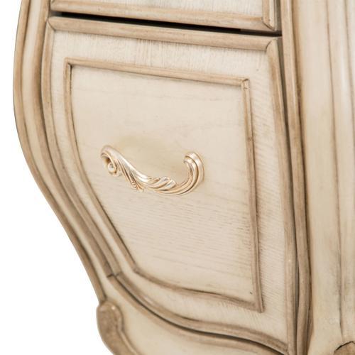 Vanity Desk Mirror & Chair 3pc