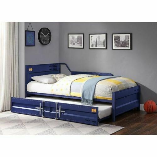ACME Cargo Daybed & Trundle (Twin Size) - 39890 - Blue