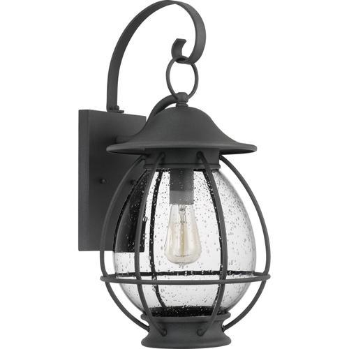 Quoizel - Boston Outdoor Lantern in Mottled Black