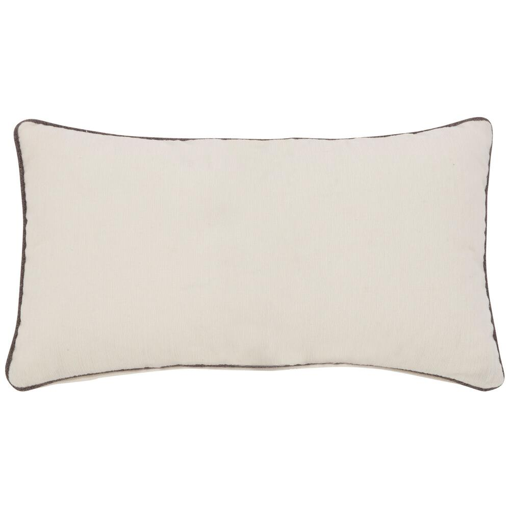 See Details - Accent Pillow Kidney Pillow with Welt