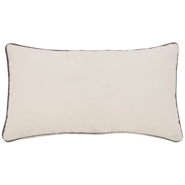 Accent Pillow Kidney Pillow with Welt