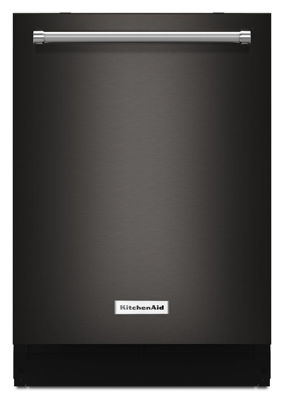 KitchenAid44 Dba Dishwasher With Dynamic Wash Arms Black Stainless Steel With Printshield™ Finish