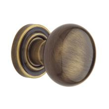 View Product - Satin Brass and Black 5000 Estate Knob