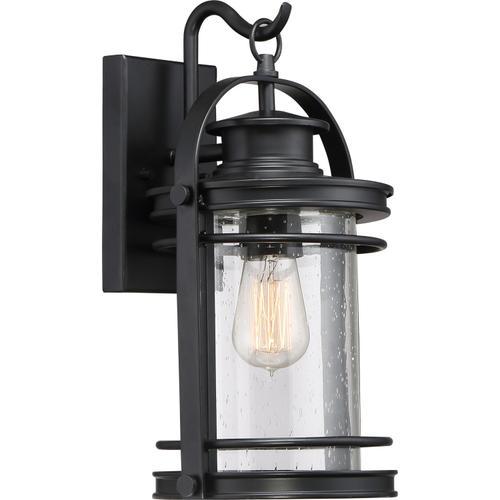 Quoizel - Booker Outdoor Lantern in Mystic Black