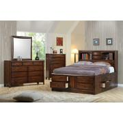 Hillary and Scottsdale Cappuccino Queen Five-piece Bedroom Set Product Image