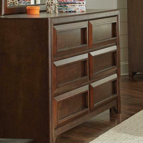 Coaster - Greenough Transitional Cappuccino Six-drawer Dresser