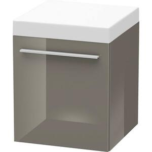 Mobile Storage Unit, Flannel Gray High Gloss (lacquer)