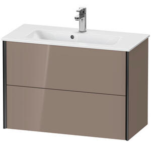 Duravit - Vanity Unit Wall-mounted Compact, Cappuccino High Gloss (lacquer)