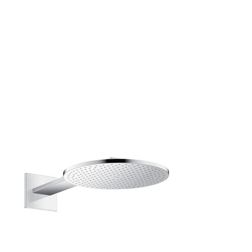 Chrome Overhead shower 300 2jet with shower arm