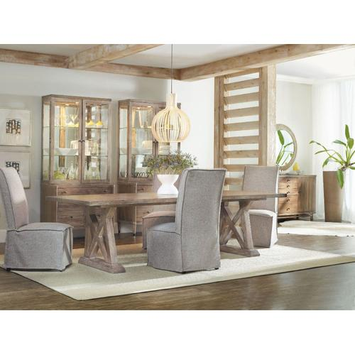 Dining Room Studio 7H Geo Trestle Dining Table