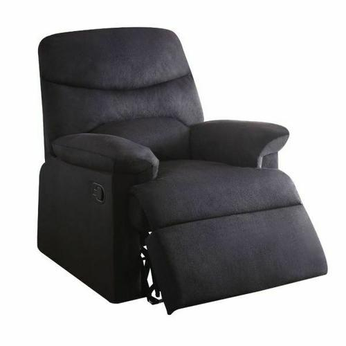 ACME Arcadia Recliner - 00701 - Black Fabric
