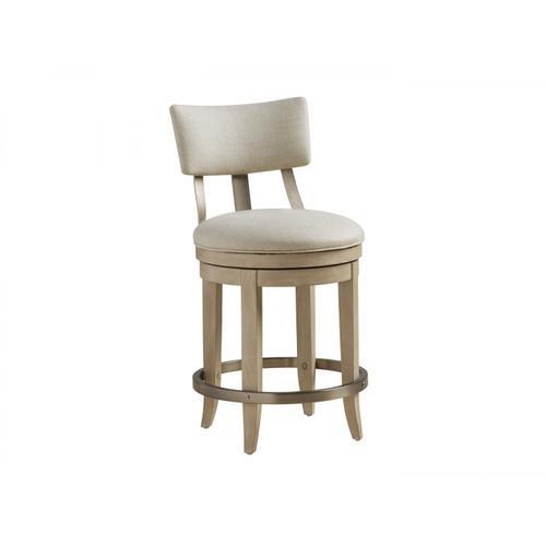 Lexington Furniture - Cliffside Swivel Upholstered Counter Stool