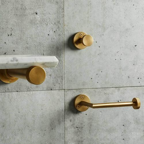 Stone Forest - Elemental Accessories Robe Hook / Aged Brass Unlaquered