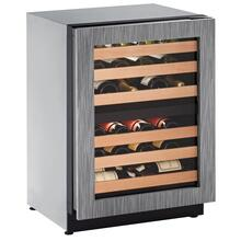 "24"" Dual-zone Wine Refrigerator With Integrated Frame Finish and Field Reversible Door Swing (115 V/60 Hz Volts /60 Hz Hz)"