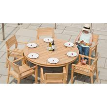 """Tivoli 62"""" Round Dining Table"""