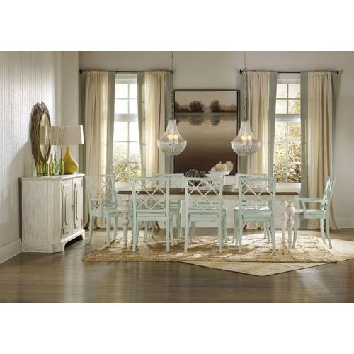 Dining Room Sunset Point Rectangle Dining Table with Two 18'' Leaves