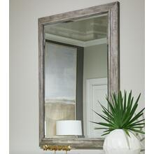 Cameron Landscape Mirror - Raw Silk