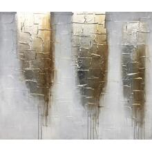 """Product Image - Modrest 47"""" x 39"""" Abstract Oil Painting"""