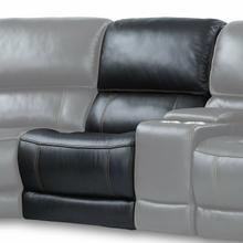 View Product - EMPIRE - VERONA BLACKBERRY Power Armless Recliner