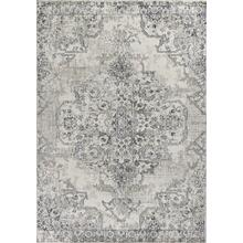 "Seville 9471 Ivory/grey Medallion 7'7"" X 10'10"""