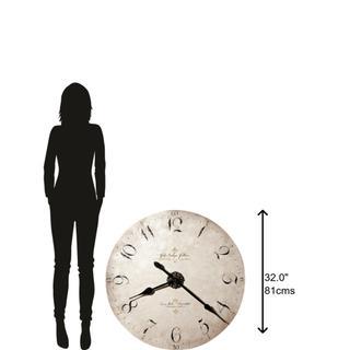 See Details - Howard Miller Enrico Fulvi Oversized Wall Clock 620369