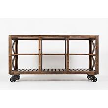 "See Details - Loftworks 60"" Trolley Cart"