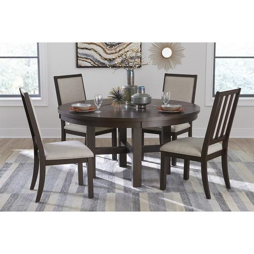 Gallery - Round Dining Table with Lazy Susan