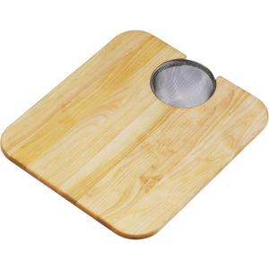 "Elkay Hardwood 14-1/2"" x 17"" x 3/4"" Cutting Board Product Image"