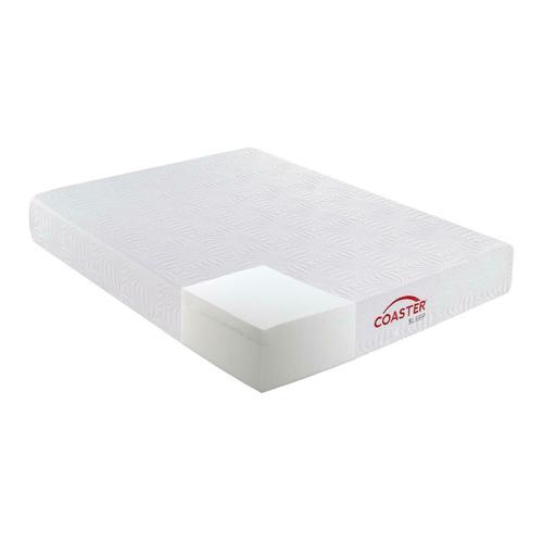 Gallery - Key White 10-inch Full Memory Foam Mattress